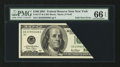 Error Notes:Foldovers, Fr. 2177-B $100 2001 Federal Reserve Note. PMG Gem Uncirculated 66EPQ.. ...