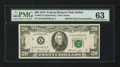 Error Notes:Double Denominations, Fr. 2071-K $20/$10 1974 Federal Reserve Note. PMG Choice Uncirculated 63.. ...