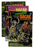Bronze Age (1970-1979):Miscellaneous, Dagar the Invincible File Copy Group (Gold Key\Whitman, 1972-82)Condition: Average VF+.... (Total: 14 Comic Books)