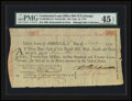 Colonial Notes:Maryland, Continental Loan Office Bill of Exchange Fourth Bill- $24 Sept. 18,1779 Anderson US-96/MD-4A. PMG Choice Extremely Fine 45 EP...