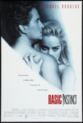 "Movie Posters:Thriller, Basic Instinct Lot (Tri-Star, 1992). One Sheets (2) (27"" X 40"") DS. Thriller.. ... (Total: 2 Items)"
