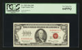 Small Size:Legal Tender Notes, Serial Number 13 Fr. 1550 $100 1966 Legal Tender Note. PCGS Very Choice New 64PPQ.. ...