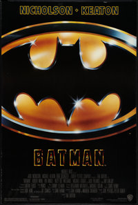 """Batman (Warner Brothers, 1989). One Sheet (27"""" X 40"""") SS Style C. Action"""