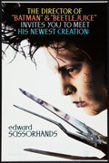 "Movie Posters:Fantasy, Edward Scissorhands (20th Century Fox, 1990). One Sheet (27"" X 41"")SS. Fantasy.. ..."
