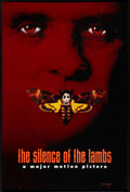 """Movie Posters:Thriller, The Silence of the Lambs (Orion, 1990). One Sheet (27"""" X 40"""") Advance DS Style B. Thriller.. ..."""