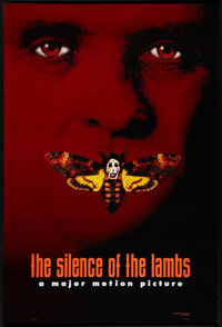 """The Silence of the Lambs (Orion, 1990). One Sheet (27"""" X 40"""") Advance DS Style B. Thriller"""