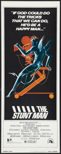 "Movie Posters:Adventure, The Stunt Man (20th Century Fox, 1980). Insert (14"" X 36"").Adventure.. ..."