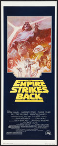 "Movie Posters:Science Fiction, The Empire Strikes Back (20th Century Fox, R-1981). Insert (14"" X 36""). Science Fiction.. ..."
