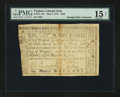 Virginia May 3, 1779 $100 PMG Choice Fine 15 Net