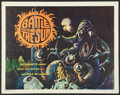 """Movie Posters:Science Fiction, Battle Beyond the Sun (Film Group, 1962). Half Sheet (22"""" X 28""""). Science Fiction.. ..."""