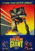 "Movie Posters:Animated, The Iron Giant (Warner Brothers, 1999). One Sheet (27"" X 40"") SS Advance. Animated.. ..."