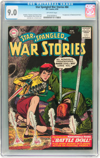 Star Spangled War Stories #84 (DC, 1959) CGC VF/NM 9.0 Off-white pages