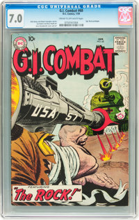 G.I. Combat #68 (DC, 1959) CGC FN/VF 7.0 Cream to off-white pages