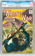 Silver Age (1956-1969):War, Our Army at War #60 (DC, 1957) CGC VF/NM 9.0 Off-white to whitepages....