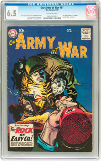 Our Army at War #81 (DC, 1959) CGC FN+ 6.5 Off-white pages