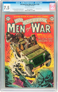 Golden Age (1938-1955):War, All-American Men of War #128 (#2) (DC, 1952) CGC VF- 7.5 Off-whiteto white pages....
