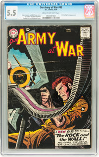 Our Army at War #83 (DC, 1959) CGC FN- 5.5 Cream to off-white pages