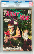 Silver Age (1956-1969):War, Our Army at War #88 (DC, 1959) CGC FN/VF 7.0 Off-white to white pages....