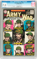 Silver Age (1956-1969):War, Our Army at War #112 (DC, 1961) CGC VF- 7.5 Cream to off-white pages....