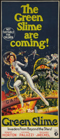 "Movie Posters:Science Fiction, The Green Slime (MGM, 1969). Australian Daybill (12.25"" X 29""). Science Fiction.. ..."
