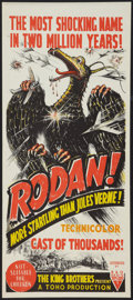 "Movie Posters:Science Fiction, Rodan! The Flying Monster (RKO, 1957). Australian Daybill (13.25"" X 30""). Science Fiction.. ..."