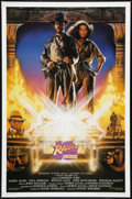 "Movie Posters:Adventure, Raiders of the Lost Ark (Paramount, R-1991). Tenth Anniversary OneSheet (27"" X 41"") Style A. Adventure.. ..."