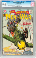 Silver Age (1956-1969):War, All-American Men of War #94 (DC, 1962) CGC NM 9.4 Cream to off-white pages....
