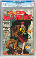 Silver Age (1956-1969):War, Star Spangled War Stories #85 (DC, 1959) CGC VF- 7.5 Cream to off-white pages....
