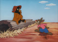 Animation Art:Limited Edition Cel, Song of the South Brer Rabbit and the Tar Baby LimitedEdition Cel 94/350 (Disney, 1986)....