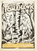Original Comic Art:Splash Pages, Fred Ray Star Spangled Comics #107 Tomahawk Splash Page 1Original Art (DC, 1950).. ...