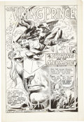 Original Comic Art:Splash Pages, Joe Kubert DC Special #12 Viking Prince Splash Page 1Original Art (DC, 1971)....