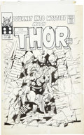 Original Comic Art:Covers, Jack Kirby and Vince Colletta Journey Into Mystery #123 Thor Cover With an Additional Original Pencil Drawing ... (Total: 2 Items)