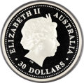 Australia, Australia: Elizabeth II Proof silver Kilo $30 Year of the Dog2006-P,...