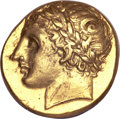 Ancients:Greek, Ancients: Sicily, Syracuse. Agathokles. 317-289 B.C. AV 50 litrai,...