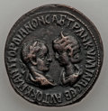 Ancients:Roman Provincial , Ancients: Mesopotamia, Singara. Gordian III, with Tranquillina.A.D. 238-244. AE,...