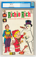 Silver Age (1956-1969):Humor, Richie Rich #3 (Harvey, 1961) CGC NM- 9.2 Cream to off-white pages....