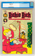 Silver Age (1956-1969):Humor, Richie Rich #4 (Harvey, 1961) CGC VF/NM 9.0 Off-white pages....
