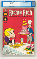 Silver Age (1956-1969):Horror, Richie Rich #9 (Harvey, 1962) CGC NM- 9.2 Off-white pages....