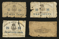 Charleston, SC- Bank of the State of South Carolina 25; 50¢ (2) Feb. 1, 1863 Charleston, SC- Bank of the State