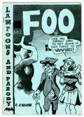Silver Age (1956-1969):Alternative/Underground, Foo #2 Original Edition by Robert and Charles Crumb (Animal Town Comics, 1958) Condition: FN....