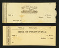 Obsoletes By State:New Jersey, New Jersey and Pennsylvania Early Checks.. ... (Total: 2 items)