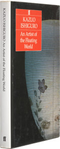Books:Signed Editions, Kazuo Ishiguro. An Artist of the Floating World. London Boston: Faber and Faber, 1986. First edition. Signed b...