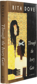 Books:Signed Editions, Rita Dove. Through the Ivory Gate. New York: Pantheon Books, 1992. First edition. Signed by the author on th...