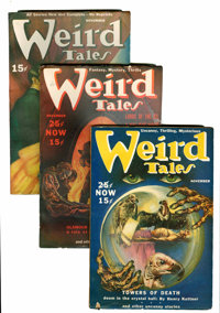 Weird Tales Group (Popular Fiction, 1939-45) Condition: Average FN.... (Total: 37 Comic Books)