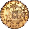 Chile, Chile: Republic gold 8 Escudos 1837-IJ,...