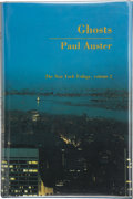 Books:Signed Editions, Paul Auster. Ghosts. The New York Trilogy, Volume 2. Los Angeles: Sun & Moon Press, 1986. First trade edition. ...