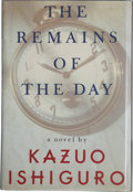 Books:Signed Editions, Kazuo Ishiguro. The Remains of the Day. New York: Alfred A. Knopf, 1989. First American edition. Signed by the...