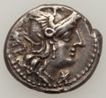 Ancients:Ancient Lots  , Ancients: Roman Republican. Lot of six denarii.... (Total: 6 coins)