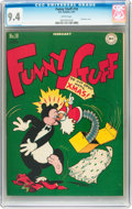 Golden Age (1938-1955):Funny Animal, Funny Stuff #18 (DC, 1947) CGC NM 9.4 White pages....