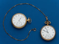 Timepieces:Pocket (post 1900), Two - Swiss, 16 Size, Pocket Watches. ... (Total: 2 Items)